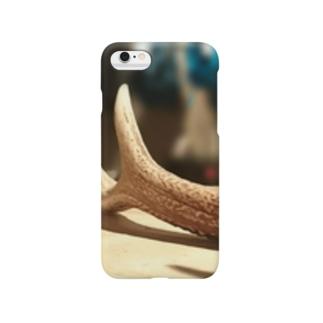鹿の角 Smartphone cases