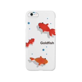 たかせ ゆづきのGoldfish Smartphone cases