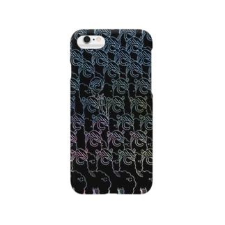 ドシパカたくさん(iPhoneケース) Smartphone cases