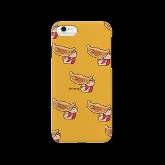 KAGE310のメガネの焼き餃子(パターンA)スマートフォンケース