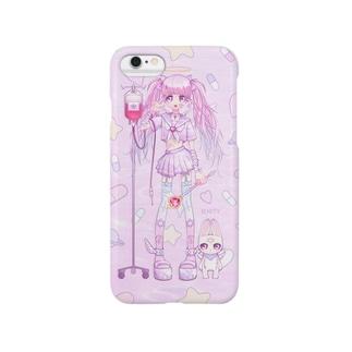 メンヘラ魔法少女 Smartphone cases