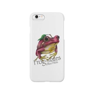 カエルメイトより「リンゴガエル」 Smartphone cases
