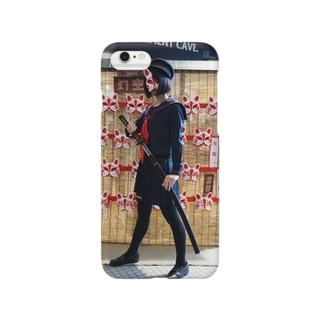 女学生狐 Smartphone cases