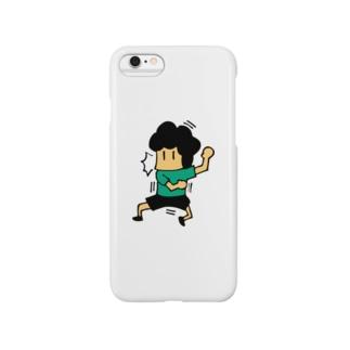 水本ビックリ Smartphone cases