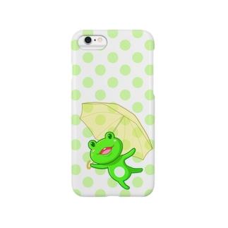 がんばれカエルさん Smartphone cases