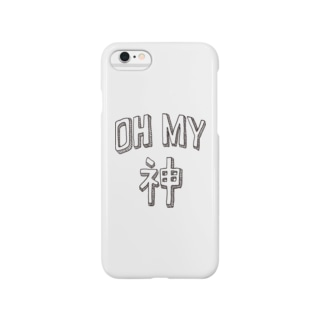 OH MY 神 Smartphone cases