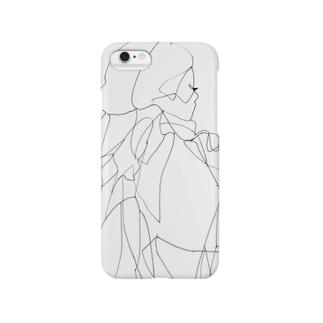 line 1 ポージング Smartphone cases