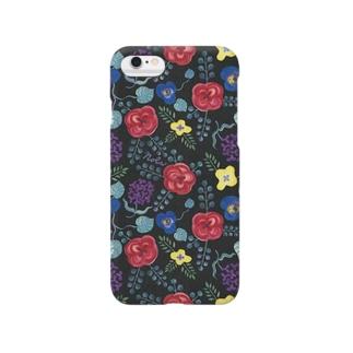 "Nolaの""ないしょばなし""(Black) Smartphone cases"