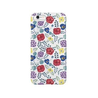 "Nolaの""ないしょばなし"" (White) Smartphone cases"