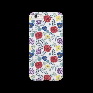 """イラストレーターNola(のら)のNolaの""""ないしょばなし"""" (White) Smartphone cases"""
