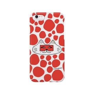 にわかニャンコRED Smartphone cases
