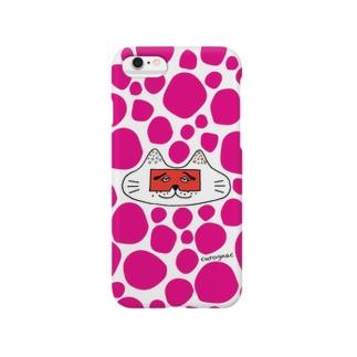 にわかニャンコPINK Smartphone cases