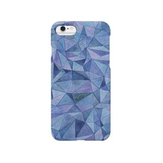 """Nolaの""""あおとむらさきと、""""  Smartphone cases"""
