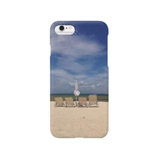 ビーチパラソル Smartphone cases
