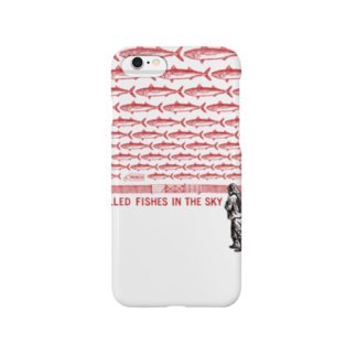 TRINCHのgrilled fishes in the sky Smartphone cases
