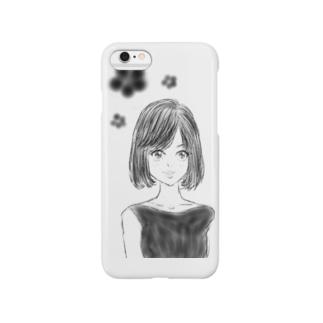 おちょぼ口girl♡ Smartphone cases