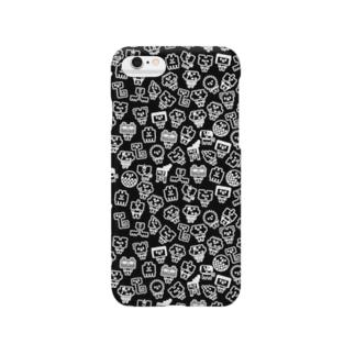 いっぱいウチュウクン-BK Smartphone cases