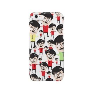 ヒゲおっさん Smartphone cases