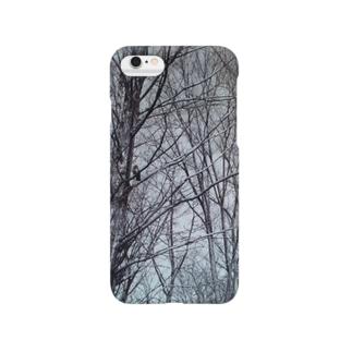 木に鳩 Smartphone cases