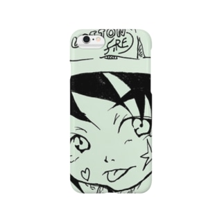 White Pullerna シリーズ Smartphone cases