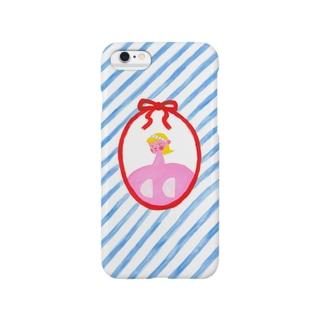 ロマンチック・ヌーブラ・ガール Smartphone cases