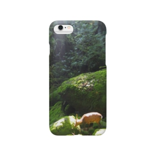 屋久島 白谷雲水峡の森 Smartphone cases