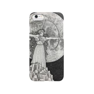 月の女神 Smartphone cases