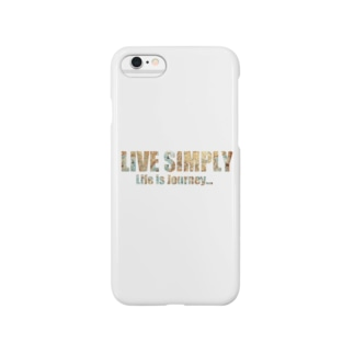 LIVE SIMPLY Smartphone cases