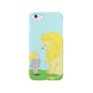 ライオンと私 Smartphone cases