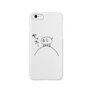 もしょもしょくん(ヤッホー) Smartphone cases