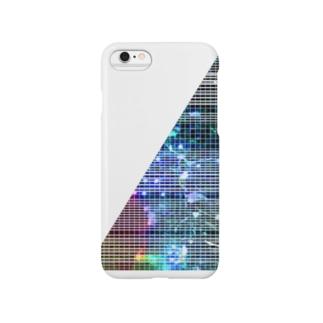 線入り直角三角形 Smartphone cases