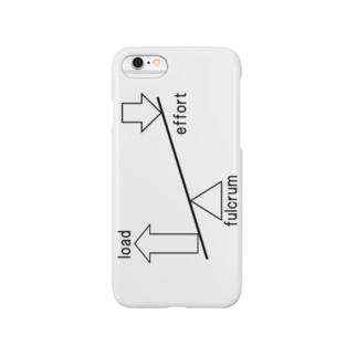 支点・力点・作用点 Smartphone cases