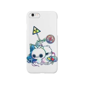 クレイジー闇うさぎ(標識/カラー) Smartphone cases