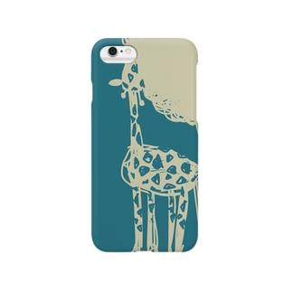 『giraffe』 スマートフォンケース