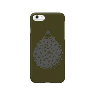 『hedgehog』 スマートフォンケース
