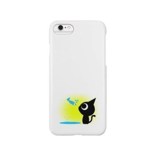 魚の夢〜ネコトビツクリトボク〜 Smartphone cases