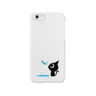 魚の夢CH〜ネコトビツクリトボク〜 Smartphone cases