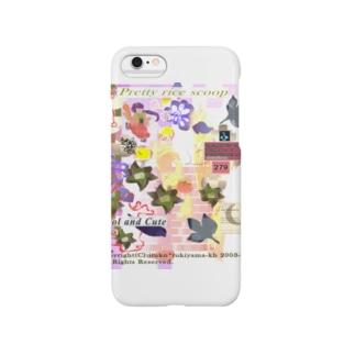 279★月山いつこ作品★春●可愛い杓文字★桃桜1 Smartphone cases