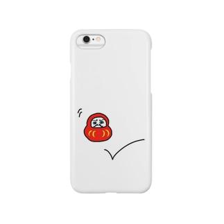 跳ねだるま Smartphone cases