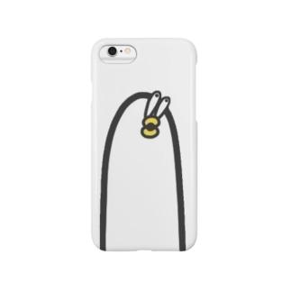 おったまげた長細いあひる Smartphone cases