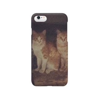 猫のiPhoneケース Smartphone cases