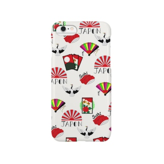 "Liv:ra×YUMI KOMORI ""JAPONISM"" Smartphone cases"