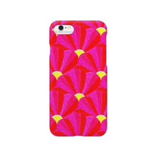"Liv:ra×YUMI KOMORI ""PEN FLOWER"" Smartphone cases"