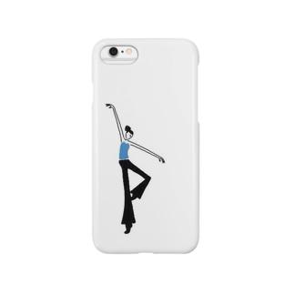ジャズダンサー Smartphone cases