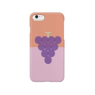 ぶどうはグレープ!目ホワーン Smartphone cases