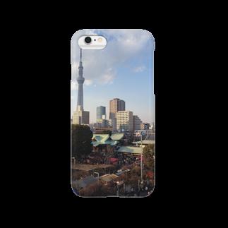 高橋賢司のスカイツリーと合格祈願 Smartphone cases