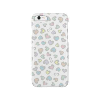 ハートの豹 Smartphone cases