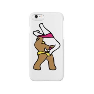Panic Junkieのクマレスラー & ウサギレスラー Smartphone cases