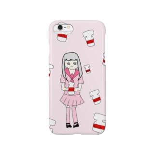 みるくちゃん Smartphone cases
