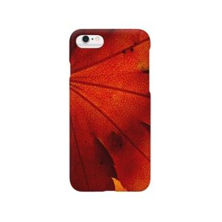 紅葉一色 -UKロゴなし- Smartphone cases